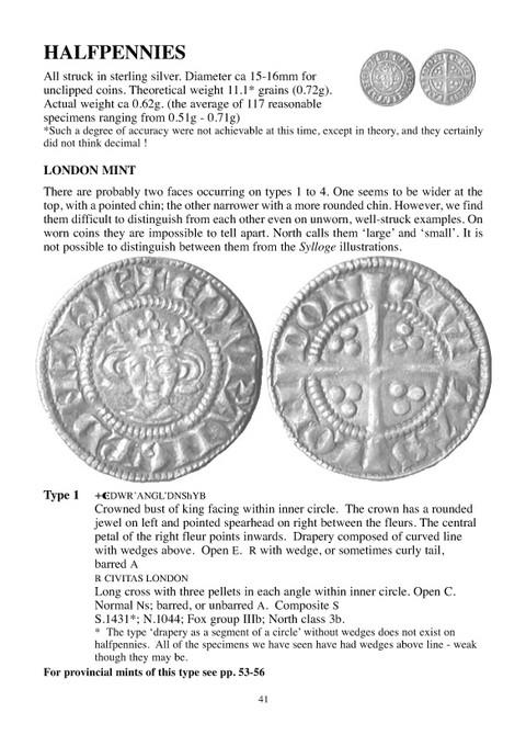 The Farthings and Halfpennies of Edward I and II.  (Small Change 1)