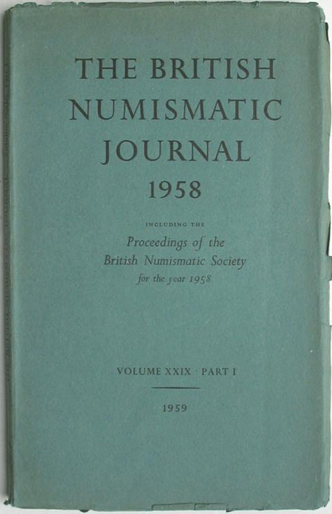British Numismatic Journal 1958