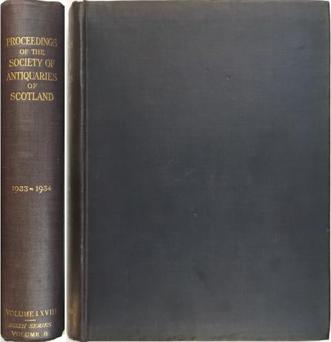 Proceedings of the Society of Antiquaries of Scotland 1933-34.