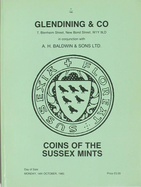 14 Oct, 1985 Coins of the Sussex Mints.