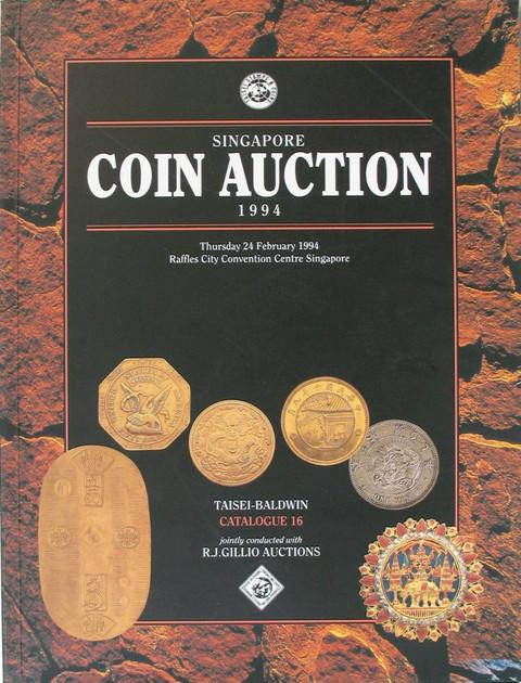 Singapore Coin Auction Catalogue 16.
