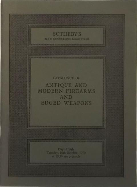 16 Oct, 1979  Antique & Modern Fire arms and Edged Weapons.