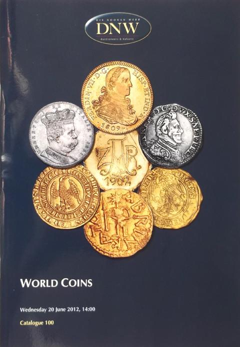 20 Jun, 2012.  DNW 100.   World Coins.