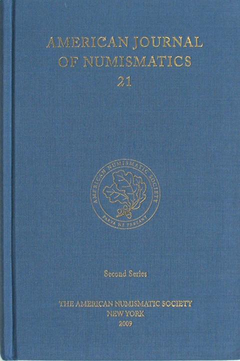 American Journal of Numismatics  Second Series, 21