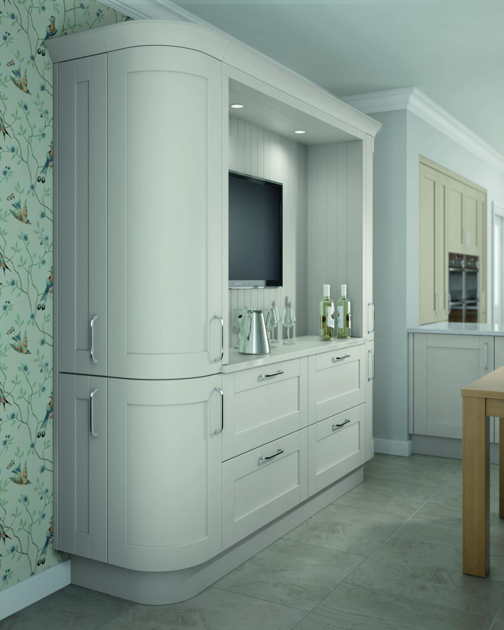 Cambridge Shaker Light Grey Shaker Style Kitchen Cabinet