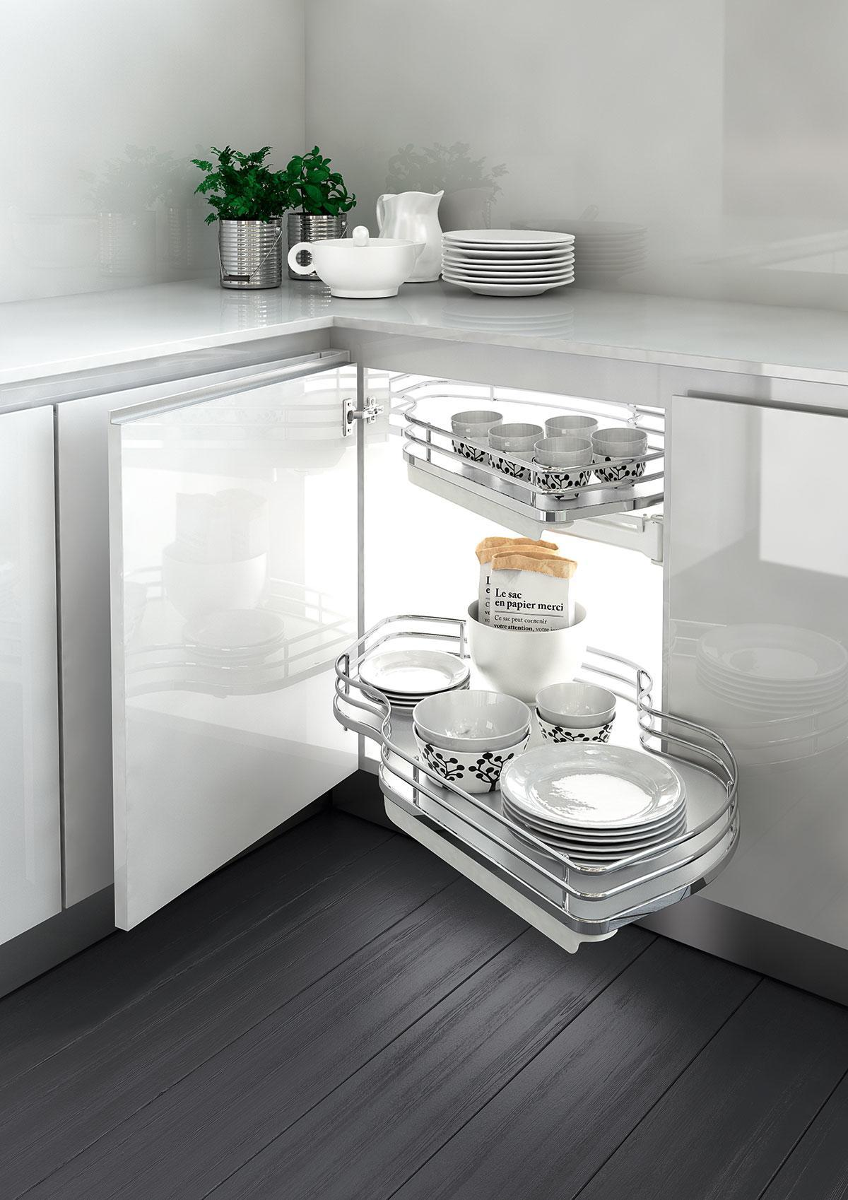 Dynamic Combi Pull Out Shelves (Chrome)