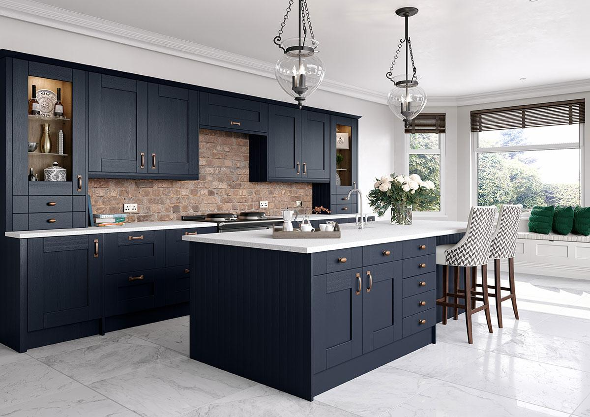 Cartmel Indigo Shaker Kitchen