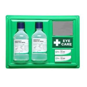 eye wash station, medikit, first aid, ppe, eye safety