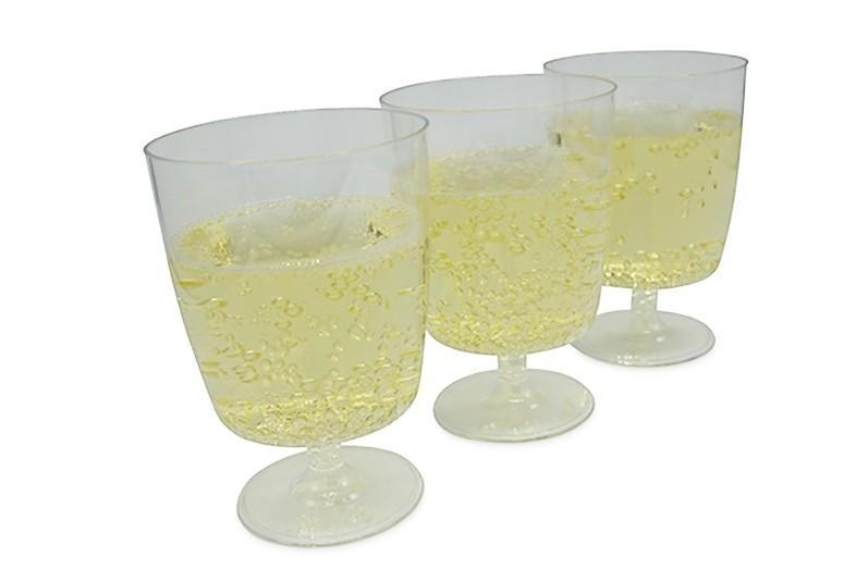Wine Glass Disposable 175ml Recyclable