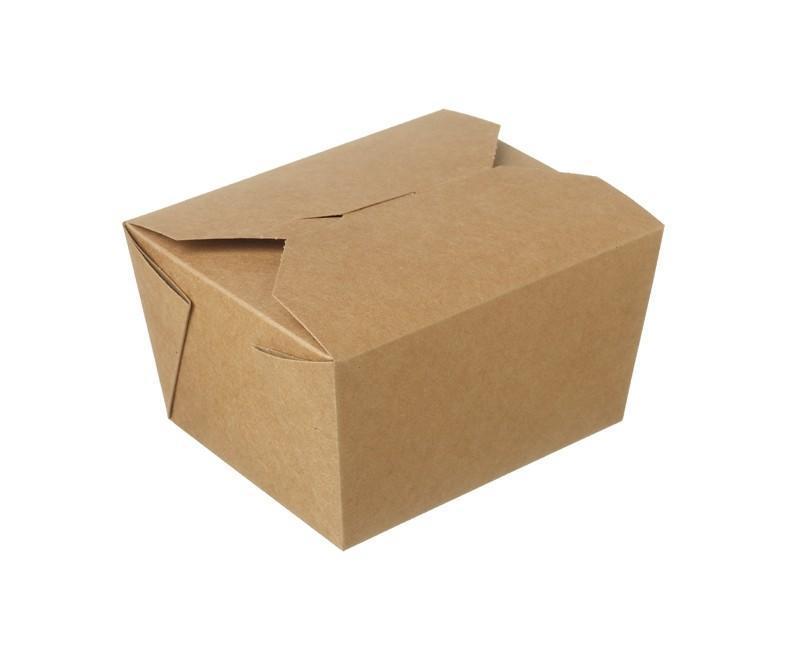 Kraft Hot Food Box Compostable #1 - 800ml
