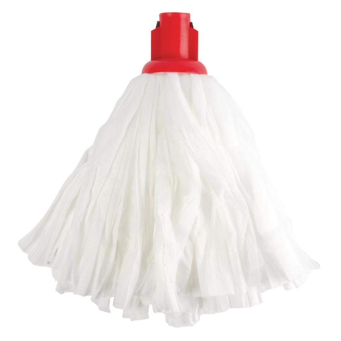 Jantex Standard Big White Socket Mop Head Red
