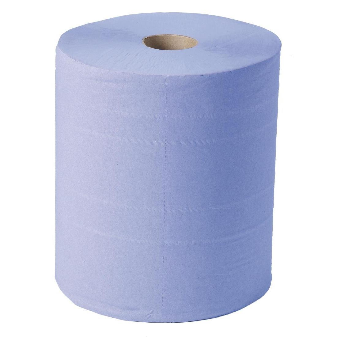 Jantex Blue Maxi Wiper Rolls 2ply 2 Pack