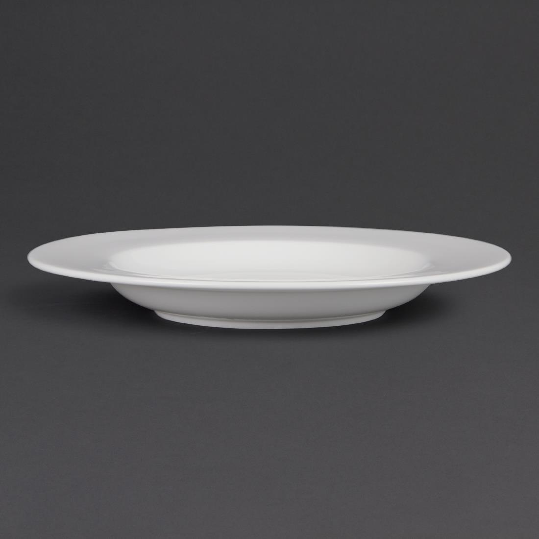 Olympia Whiteware Pasta Plates 310mm