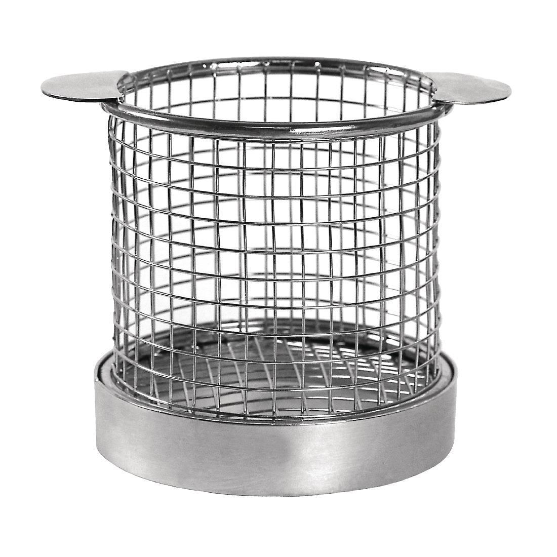 Olympia Chip basket Round with Ears 95mm