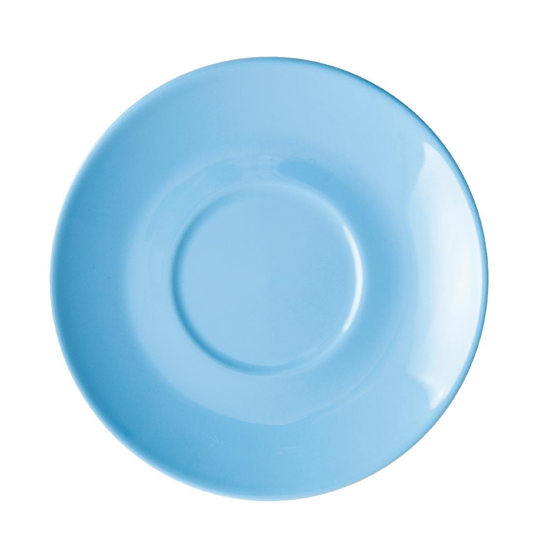 Olympia Cafe Saucer Blue 158mm