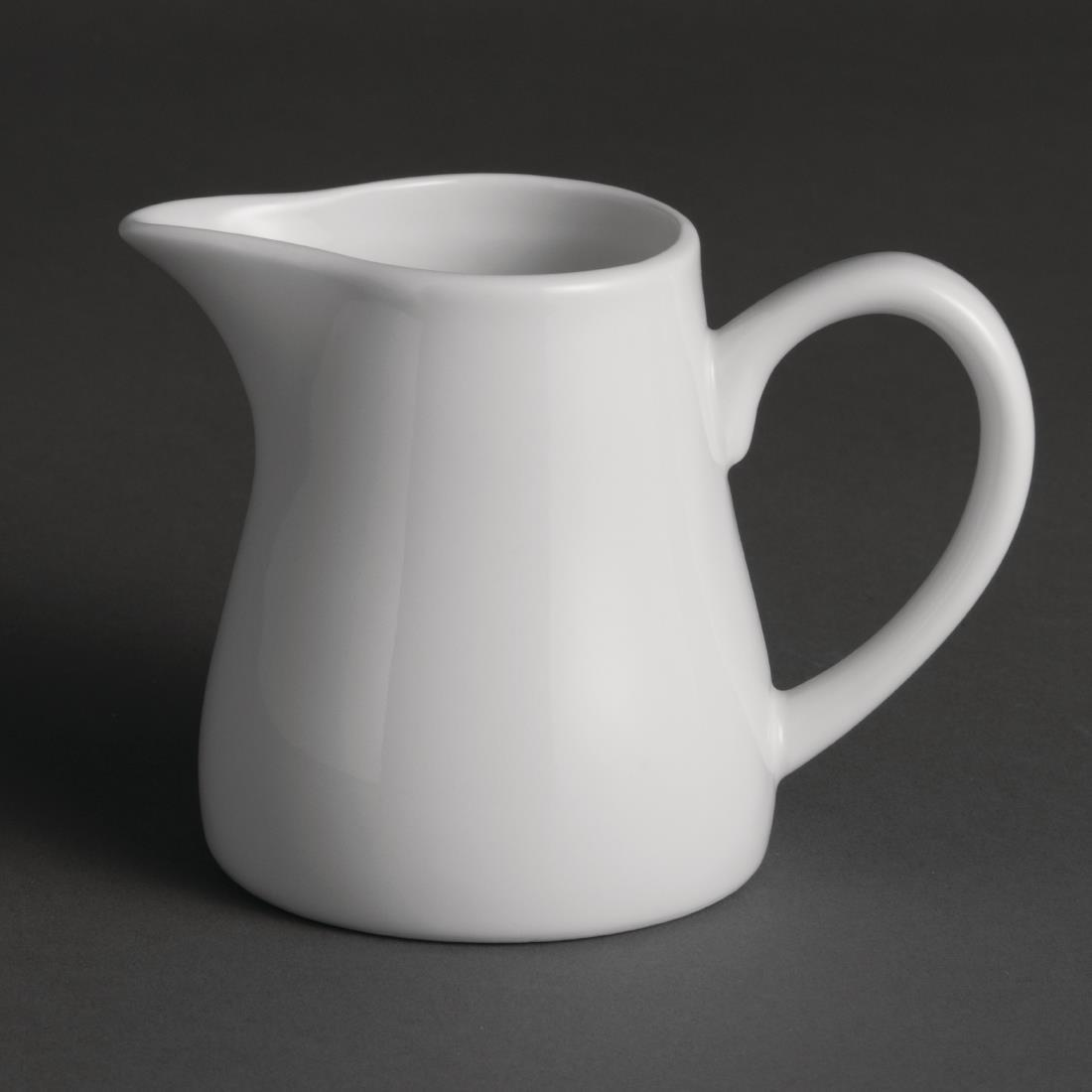Olympia Whiteware Cream and Milk Jugs 212ml