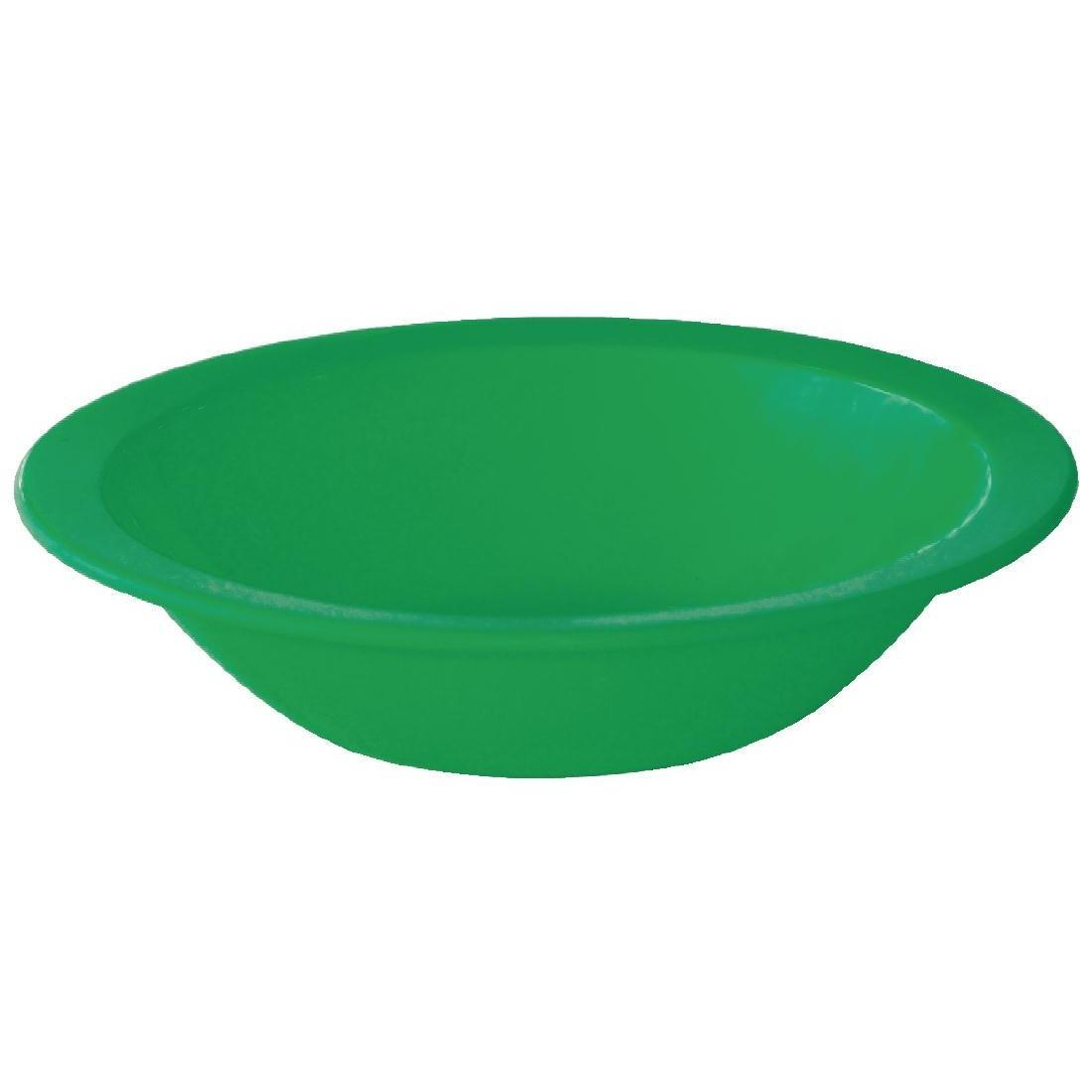 Kristallon Polycarbonate Bowls Green 172mm - Case 12 - CB772