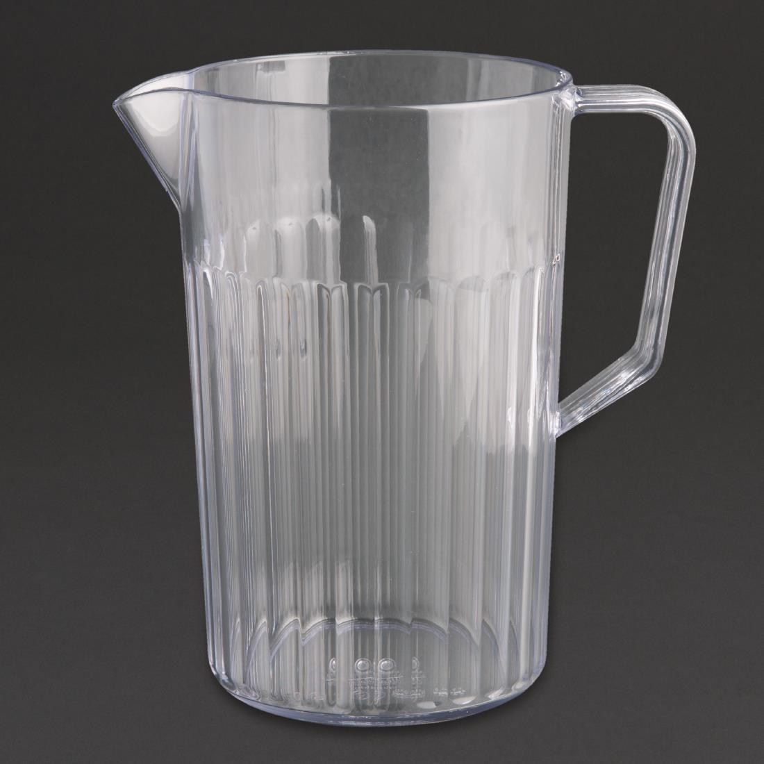 Kristallon Graduated Polycarbonate Jug 0.9Ltr - Each - J902