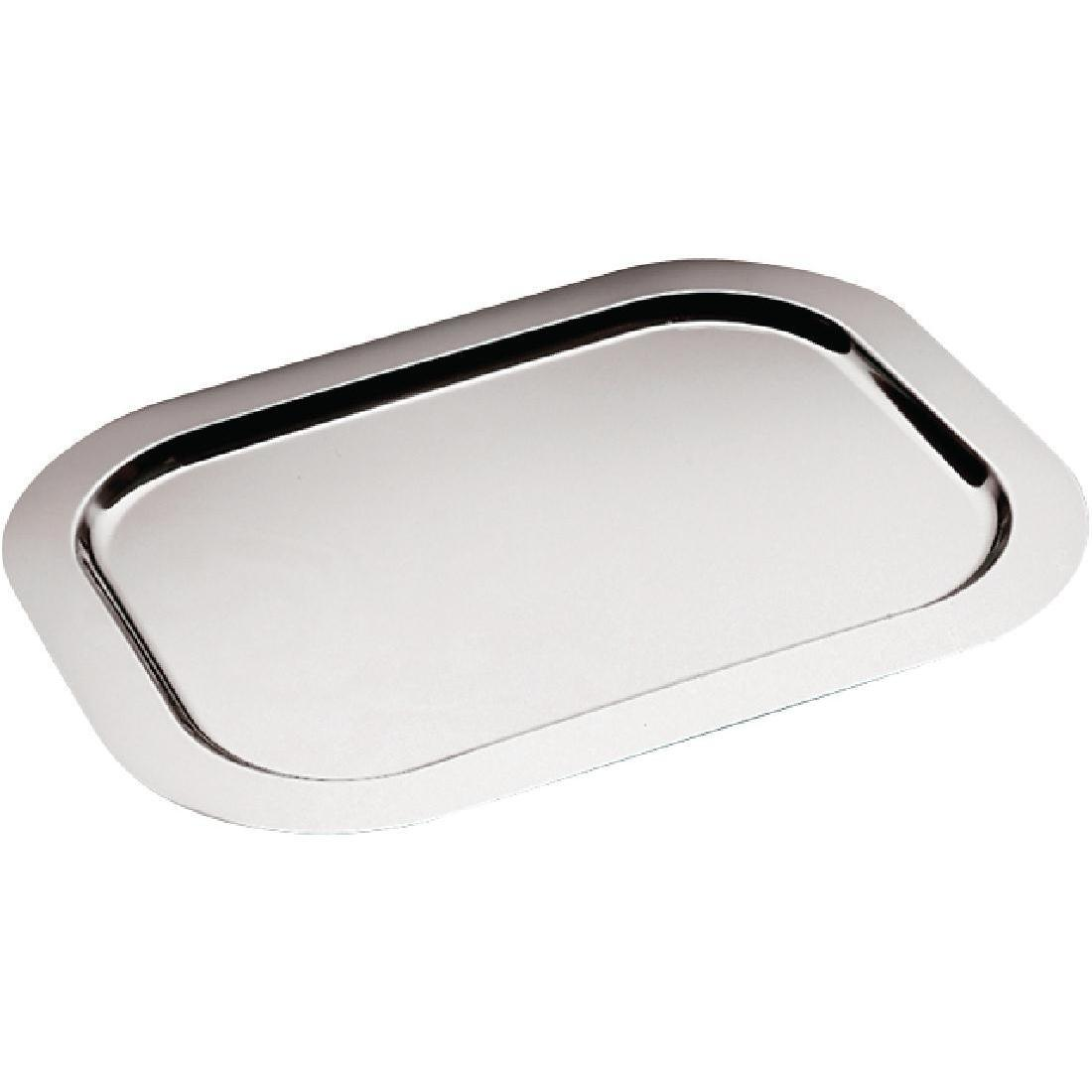 APS Large Stainless Steel Service Tray 580mm - Each - CF026