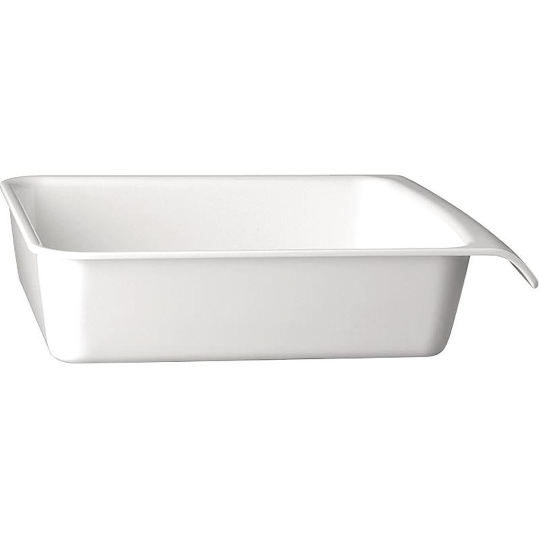 APS White 1/2GN Cascade Buffet Bowl - Each - GH400