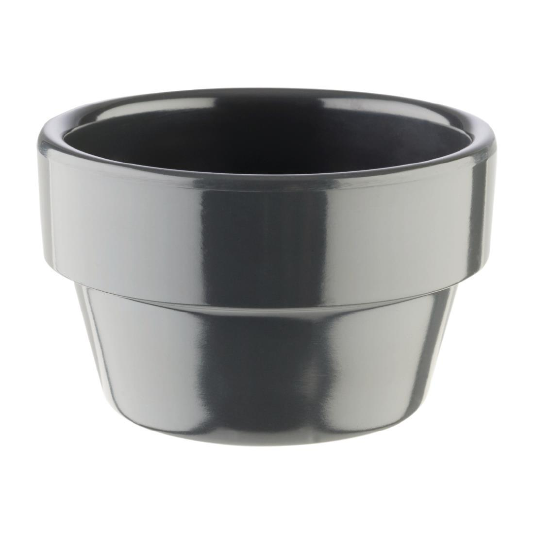 APS Flowerpot 60mm Grey - Each - HC739