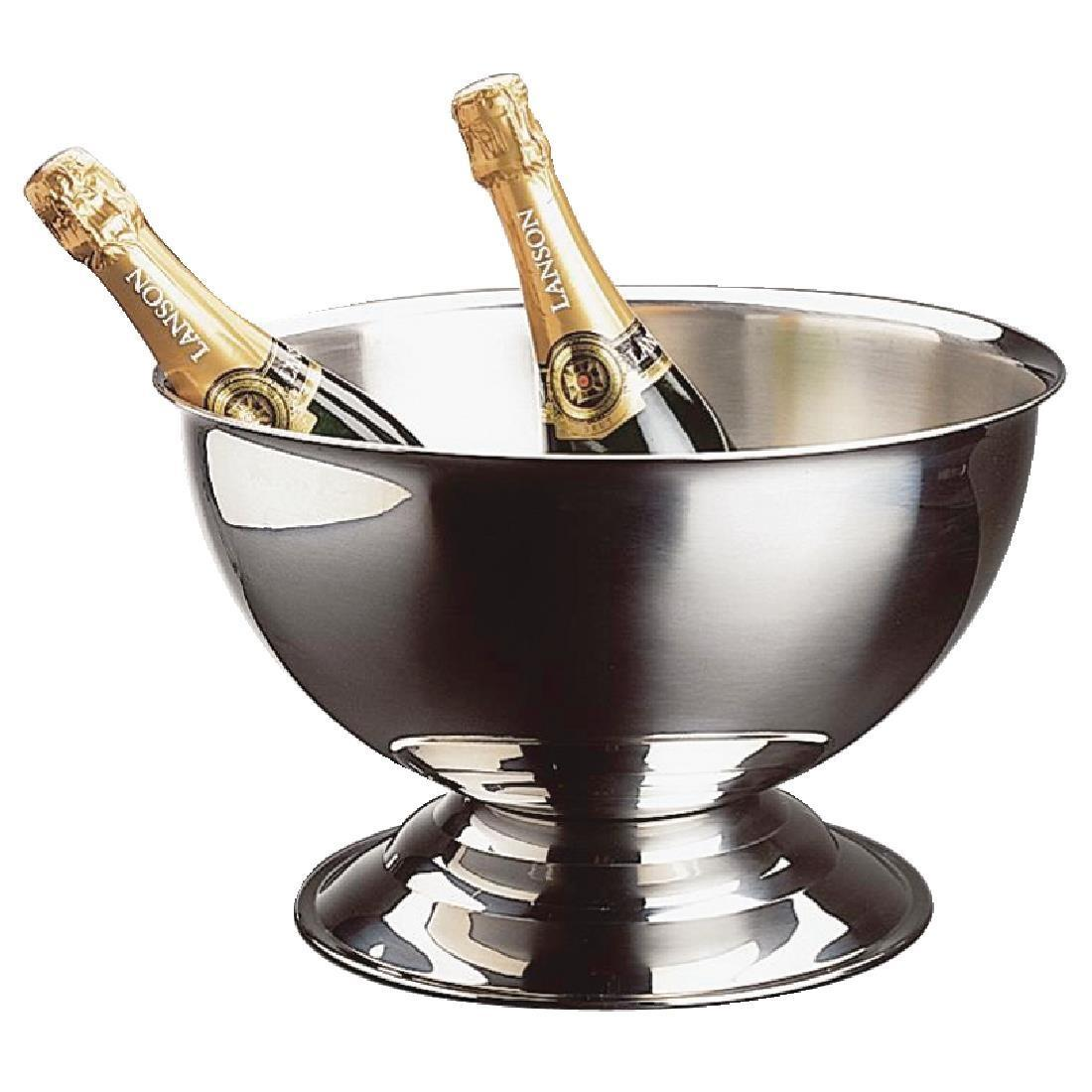 APS Stainless Steel Wine And Champagne Bowl - Each - U217