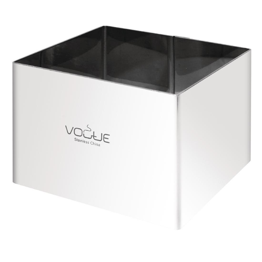 Vogue Square Mousse Rings 60 x 80 x 80mm Extra Deep - Each - CF167