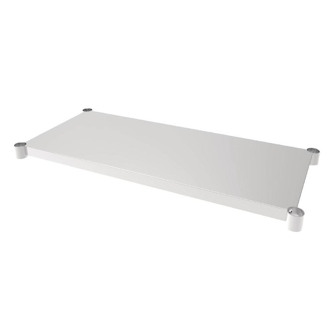 Vogue Stainless Steel Table Shelf 600x1200mm - Each - CP832