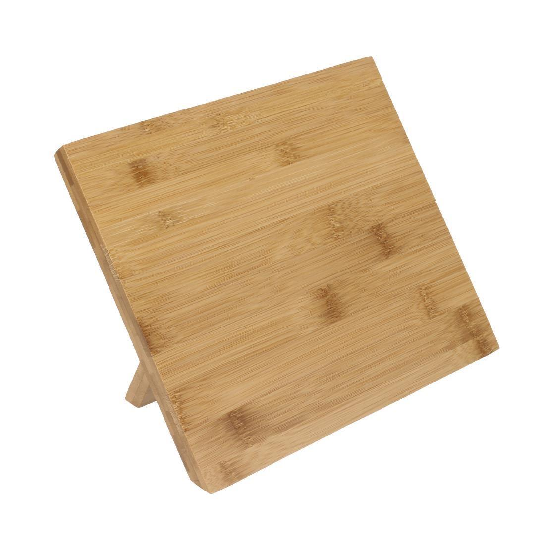 Vogue Wooden Magnetic Knife Stand 245mm - Each - CP864