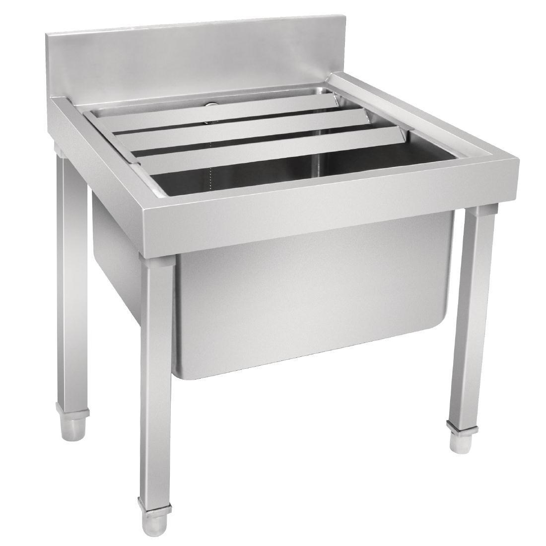 Vogue Stainless Steel Mop Sink - Each - GL281