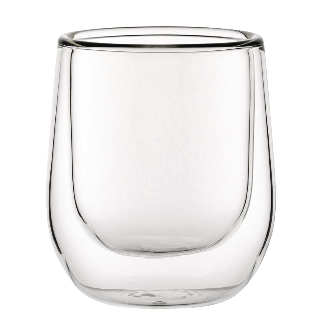 Double Walled Espresso Glass - 85ml 3oz (Box 12) - CP885