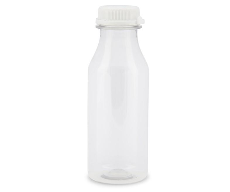 Round PET Juice Bottle 250ml Recyclable