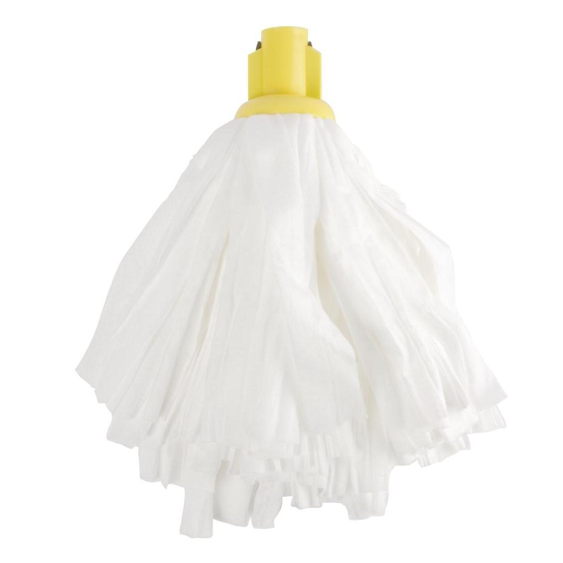 Jantex Standard Big White Socket Mop Head Yellow