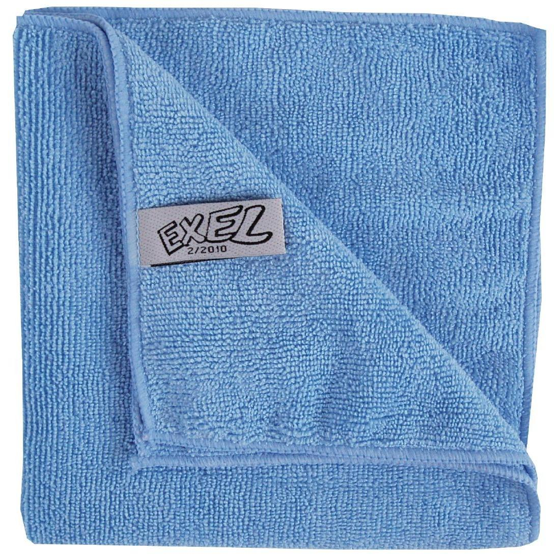 Jantex Microfibre Cloths Blue