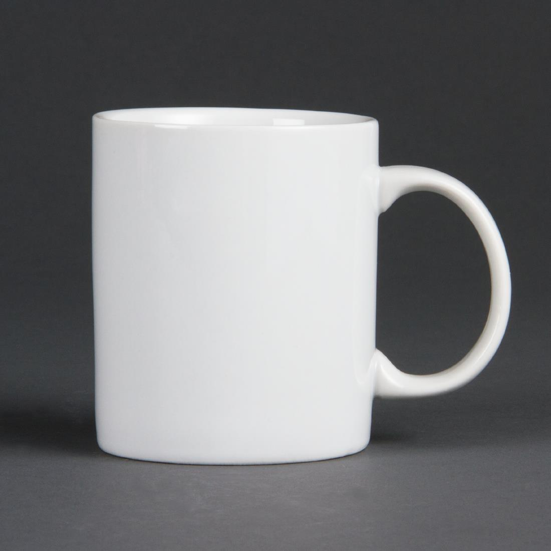 Olympia Whiteware Standard Mugs 284ml 10oz