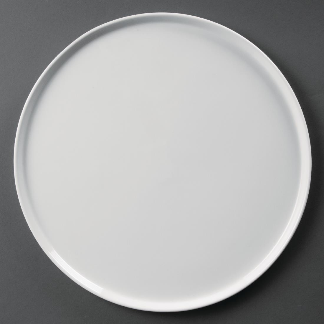 Olympia Whiteware Pizza Plates 330mm
