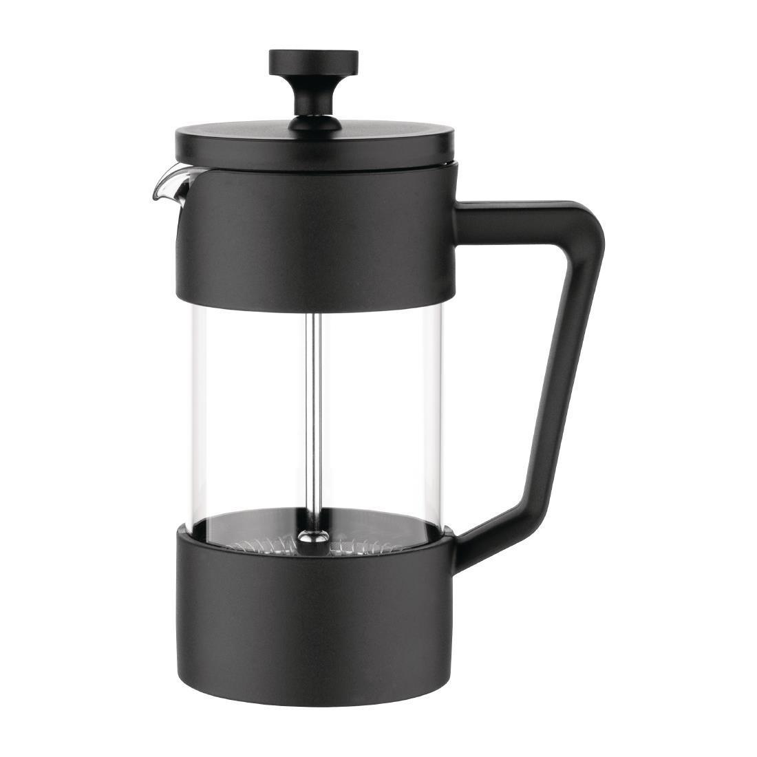 Olympia Contemporary Cafetiere Black 3 Cup