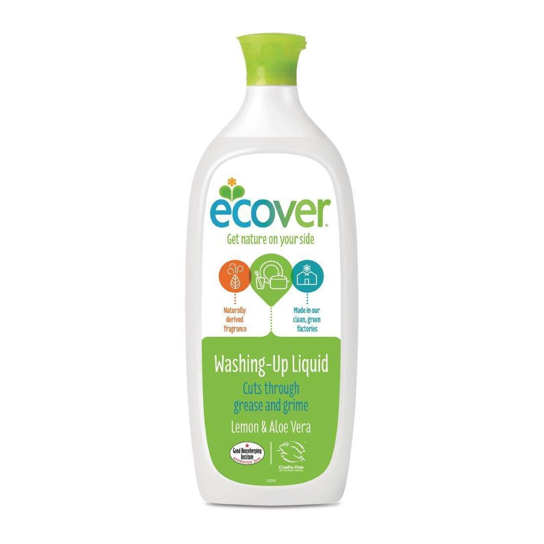 Ecover Lemon and Aloe Vera Washing Liquid 1 Litre - Each - GH500