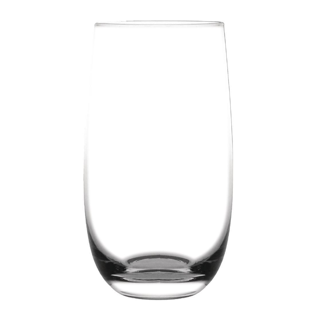 Olympia Rounded Crystal Hi Ball Glasses 390ml