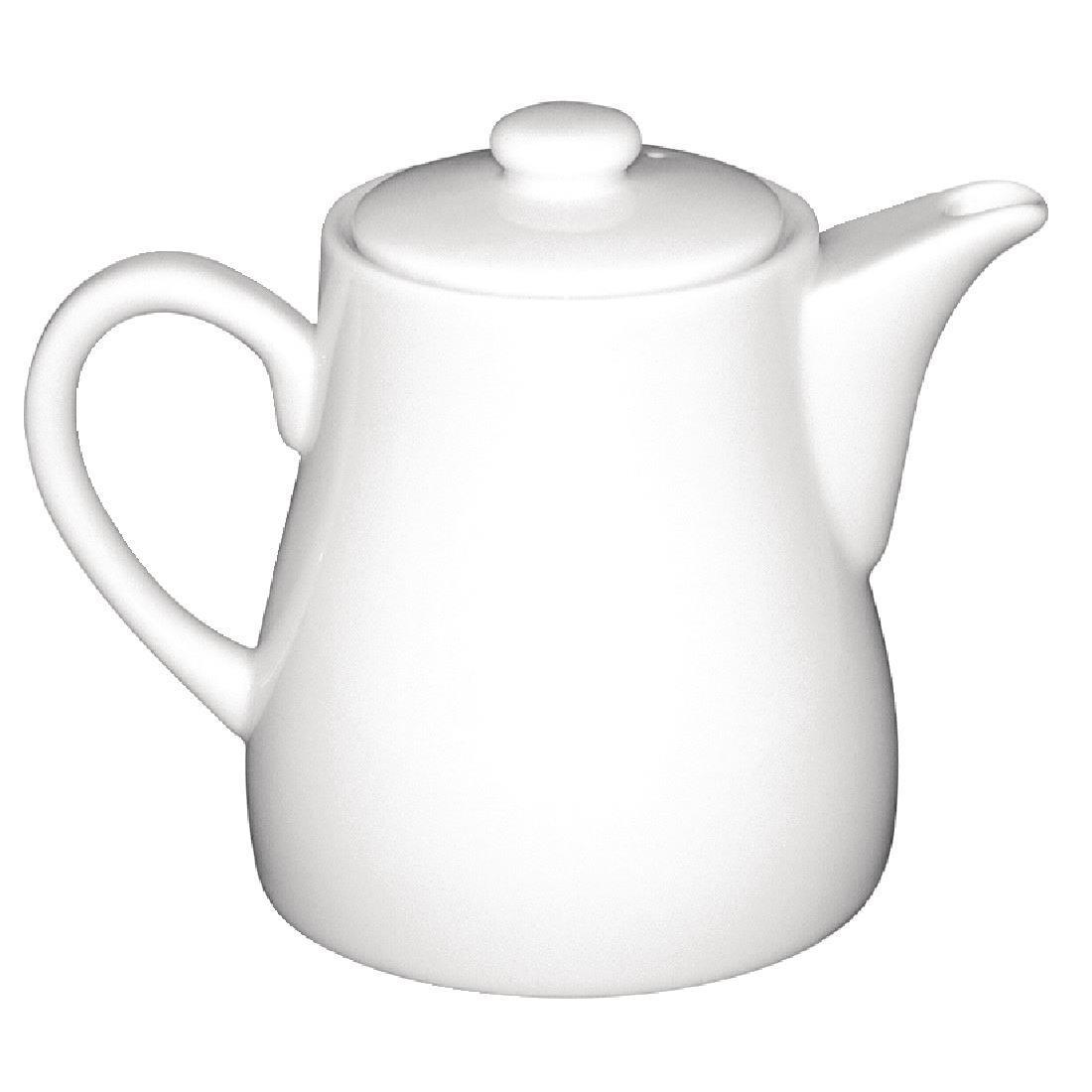 Olympia Whiteware Teapots 483ml