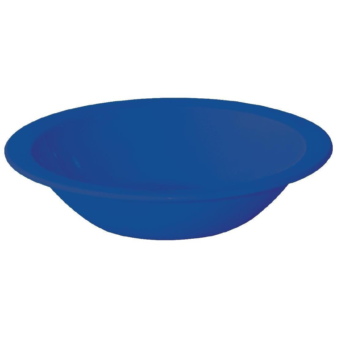 Kristallon Polycarbonate Bowls Blue 172mm - Case 12 - CB773
