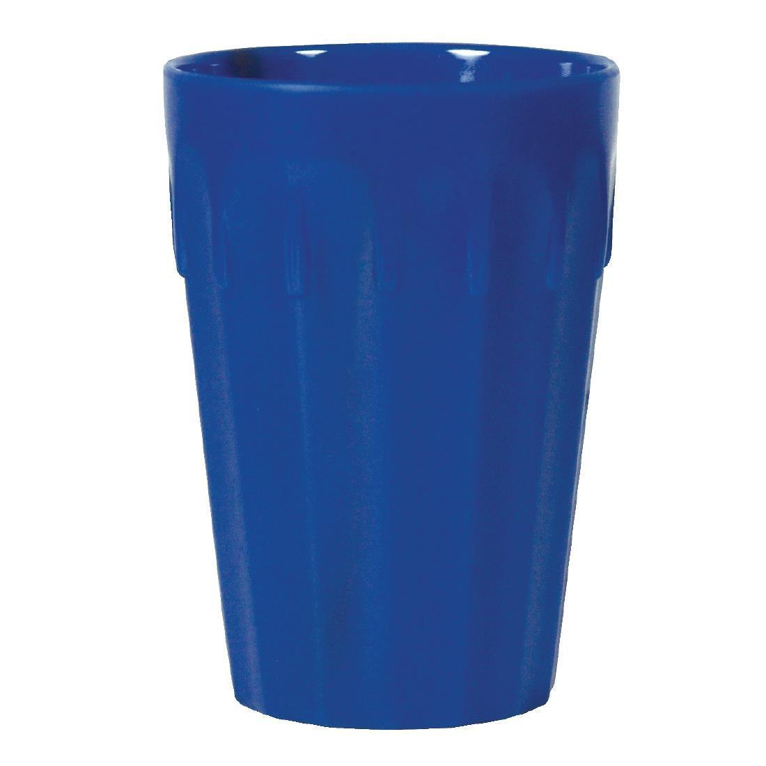 Kristallon Polycarbonate Tumblers Blue 142ml - Case 12 - CE272