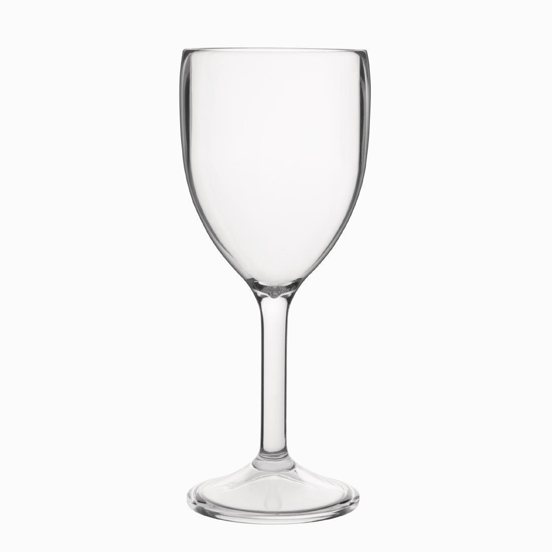 Kristallon Polycarbonate Wine Glasses 300ml - Case 12 - DS130