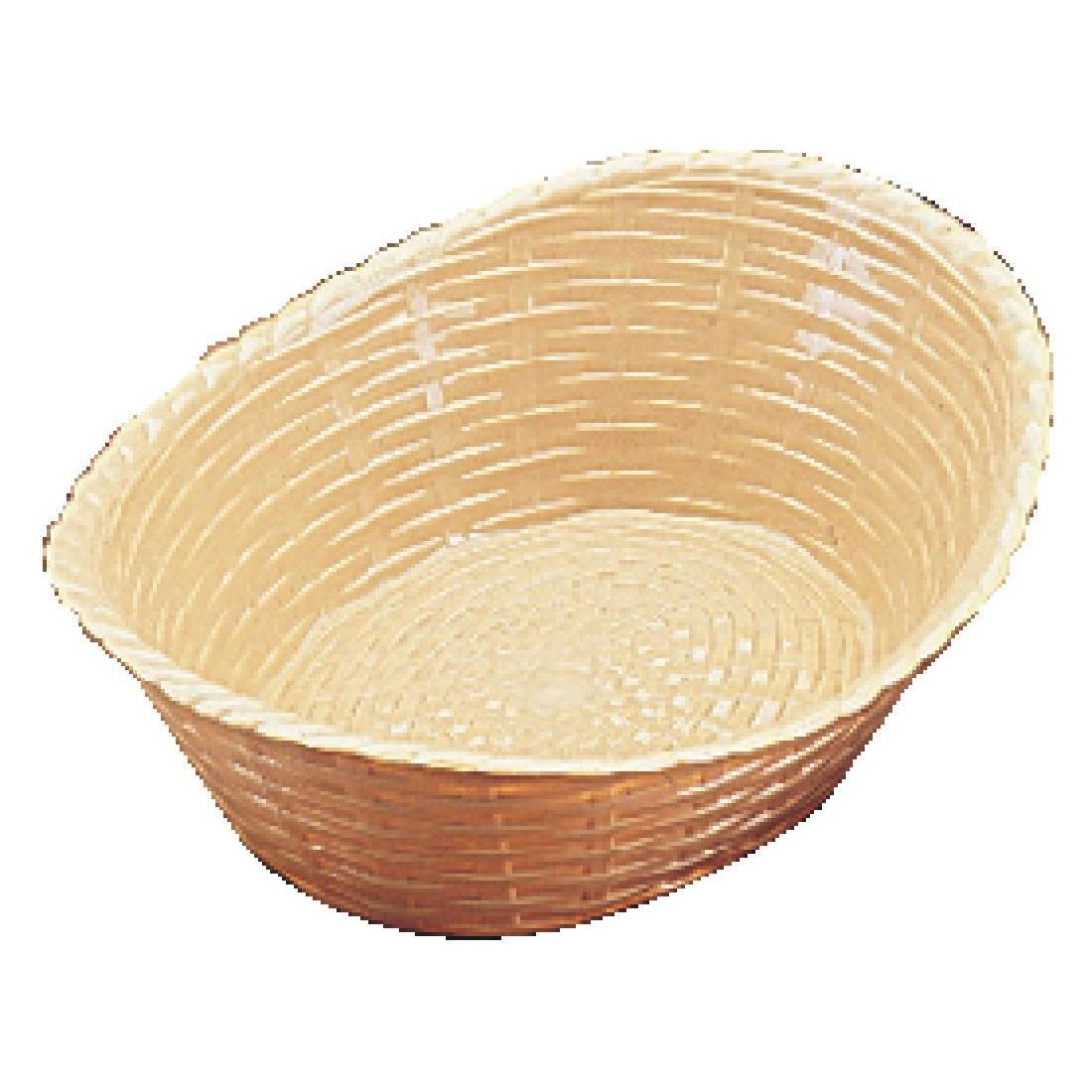 Oval Polypropylene Basket - Each - P017