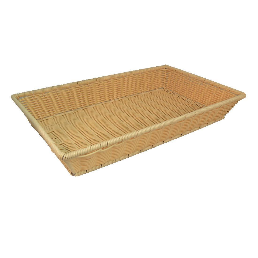 Polypropylene Rattan Basket - Each - CB802