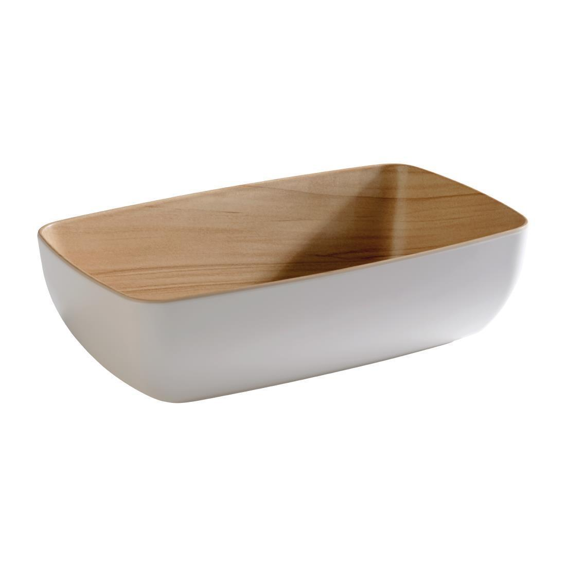 APS Frida Bowl GN1/4 White - Each - DW061