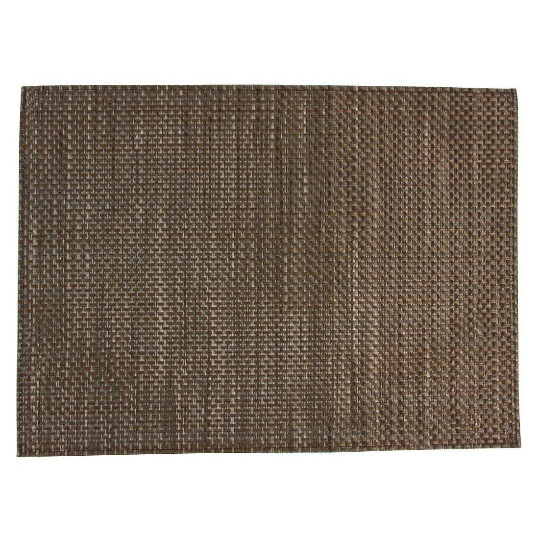 APS PVC placemat Beige And Brown - Case 6 - GJ996