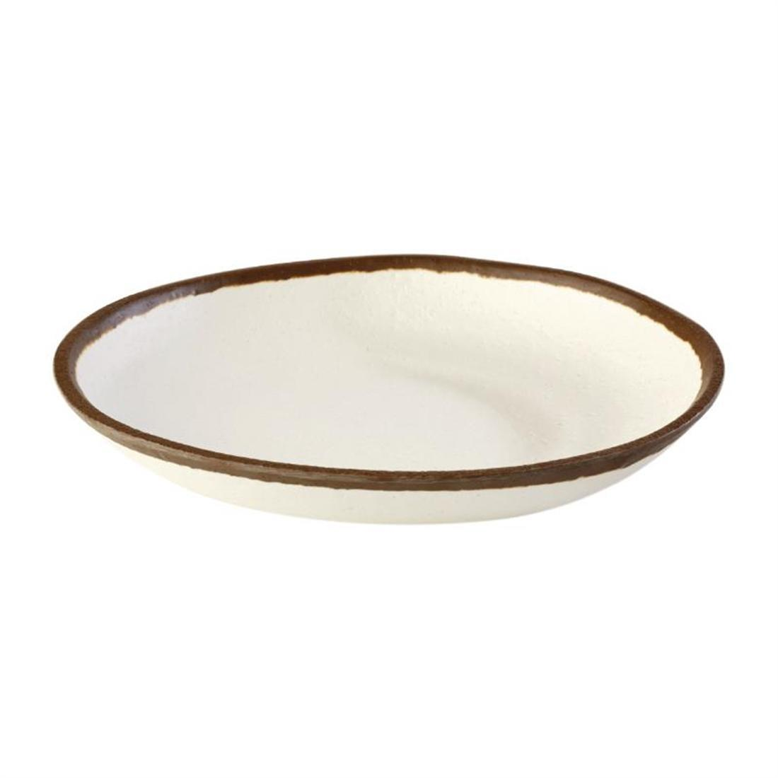 APS Crocker Plate Cream 205mm - Each - HC721