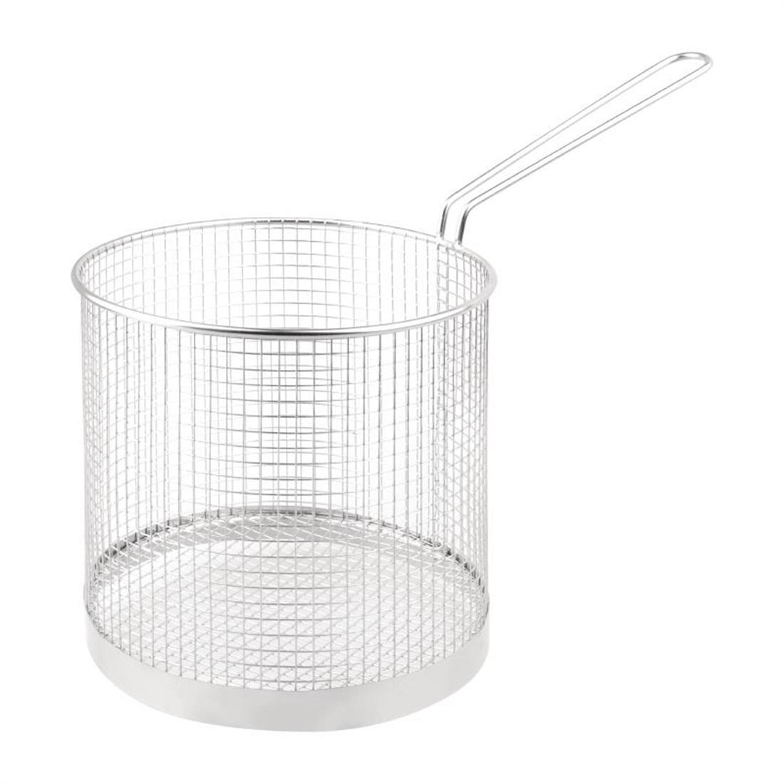"Vogue Stainless Steel Spaghetti Basket 7"" - Each - CS735"