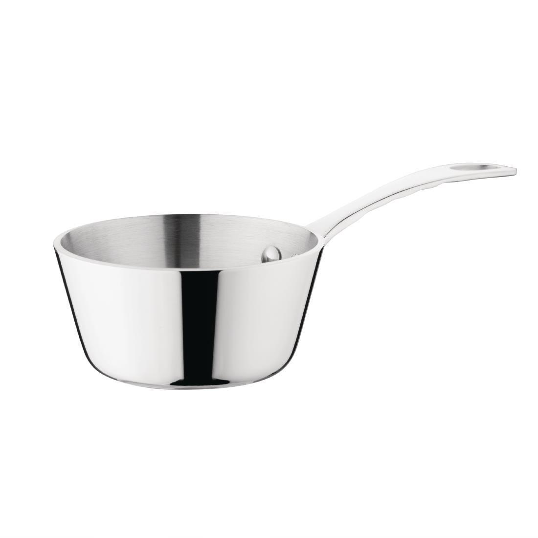 Vogue Mini Tri Wall Saute Pan 85mm - Each - GG760